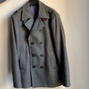 Ted baker men's wool pea coat